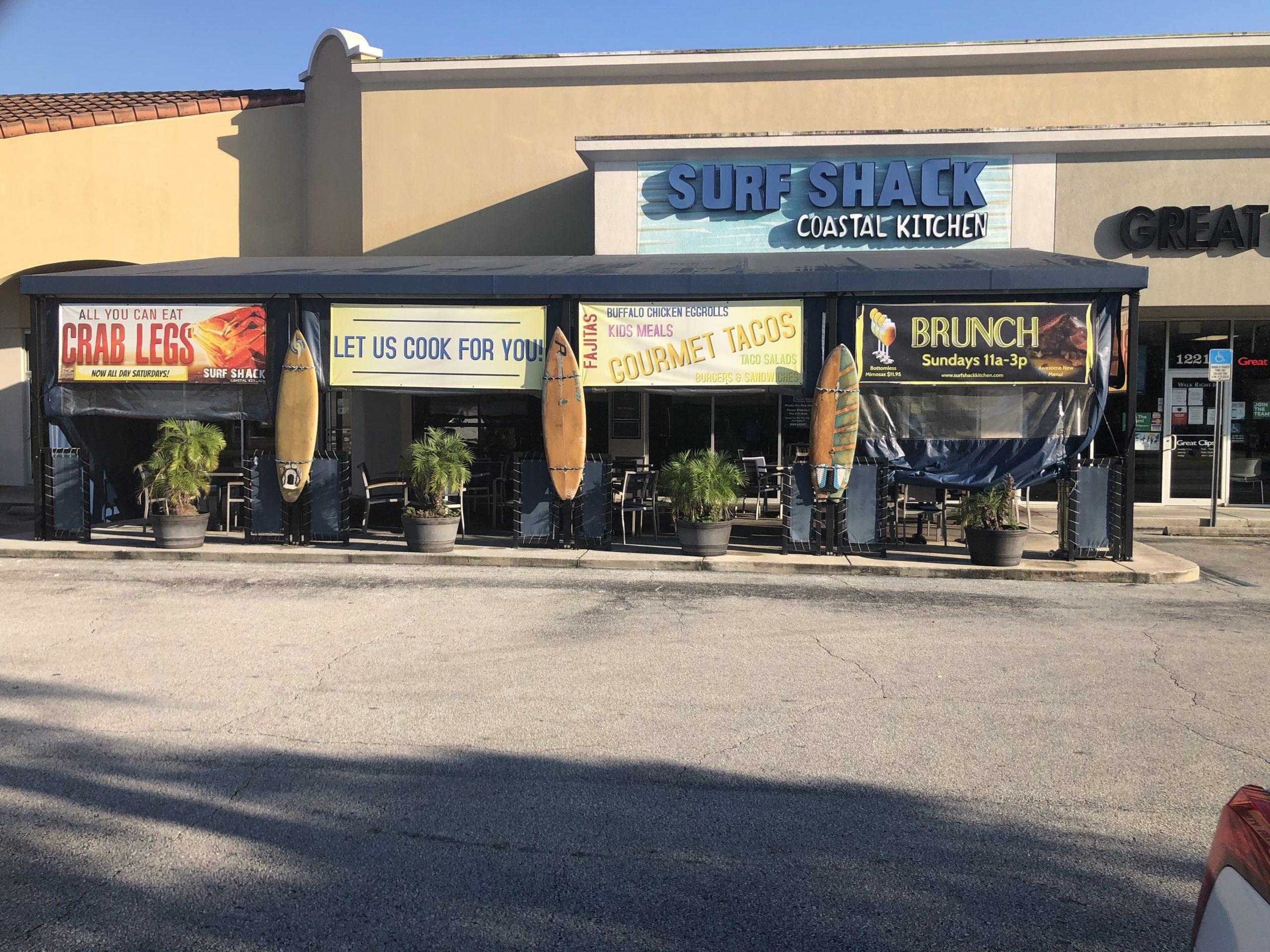 Surf Shack Tampa Restaurant Front